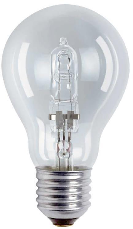 Priemyselná stmievateľná halogénová žiarovka E27/42W/230V