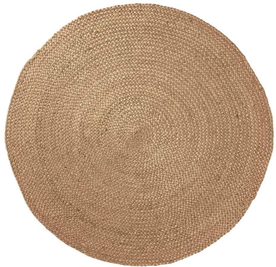 Prírodný jutový koberec La Forma Dip, ⌀ 100 cm