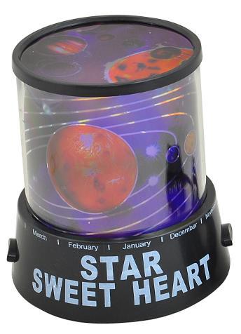 Projektor nočnej oblohy/ planety