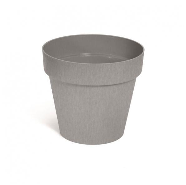 Prosperplast Kvetináč CUBE 20 cm, betón, sivá