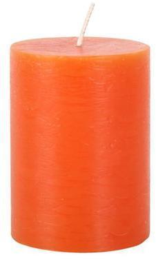Provence Rustikálna sviečka 10cm PROVENCE oranžová