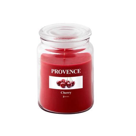 Provence Vonná sviečka v skle PROVENCE 510g, čerešňa