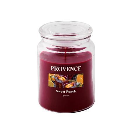 Provence Vonná sviečka v skle PROVENCE 510g, sladký punč