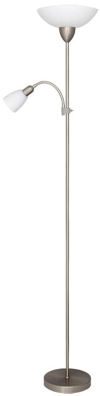 Rabalux 4067 - Stojaca lampa DIANA 1xE27/60W + E14/40W