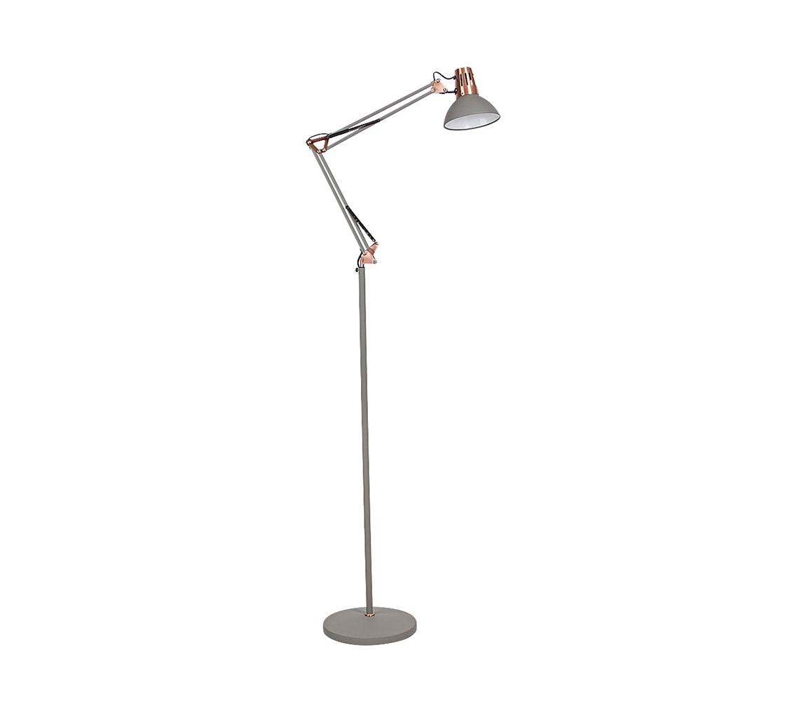 Rabalux - Stojacia lampa 1xE27/40W/230V šedá