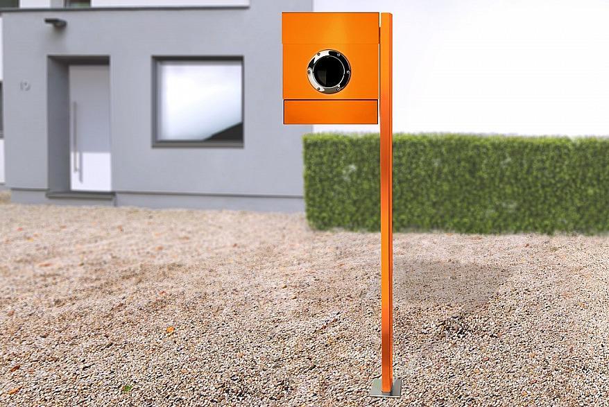 Radius design cologne Schránka na listy RADIUS DESIGN (LETTERMANN 2 orange 564A) oranžová