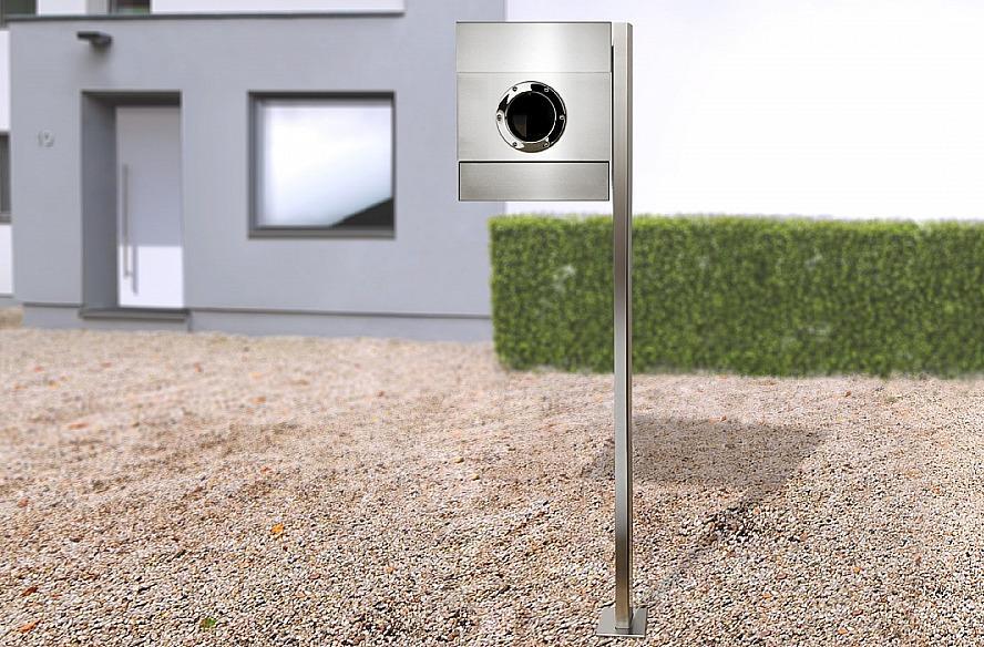 Radius design cologne Schránka na listy RADIUS DESIGN (LETTERMANN 2 stainless steel 564) nerez