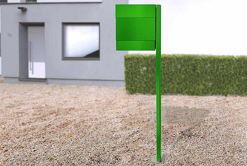 Radius design cologne Schránka na listy RADIUS DESIGN (LETTERMANN 5 green 566B) zelená
