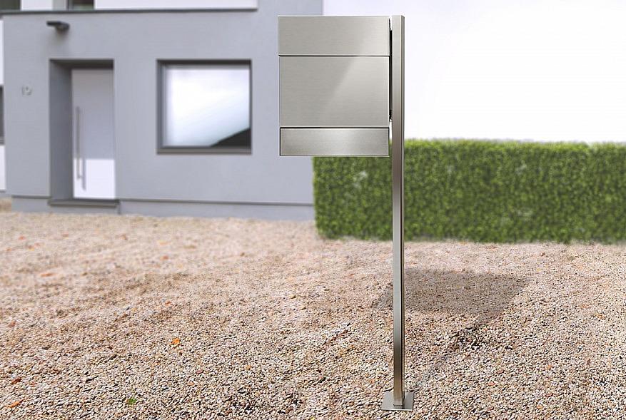 Radius design cologne Schránka na listy RADIUS DESIGN (LETTERMANN 5 stainless steel 566) nerez