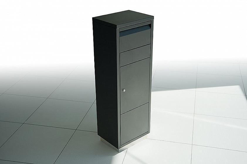 Radius design cologne Schránka na listy RADIUS DESIGN (LETTERMANN standing ovation black 601F) čierná