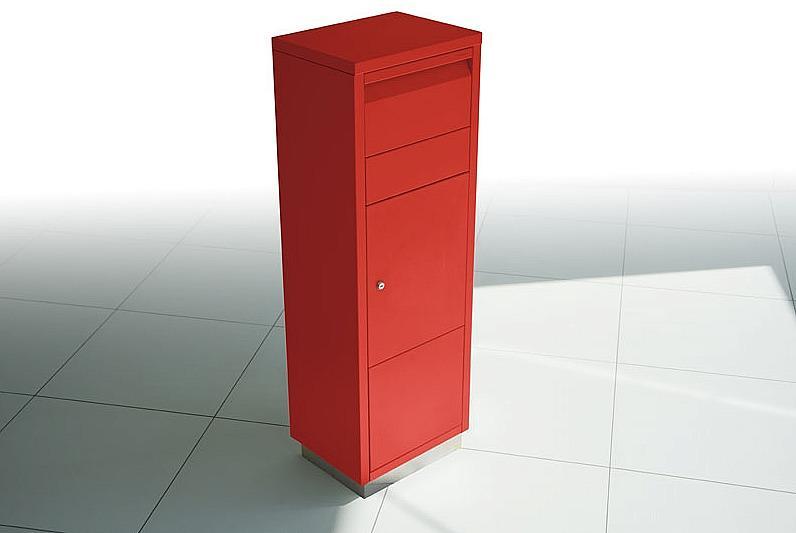 Radius design cologne Schránka na listy RADIUS DESIGN (LETTERMANN standing ovation red 601R) čiervená