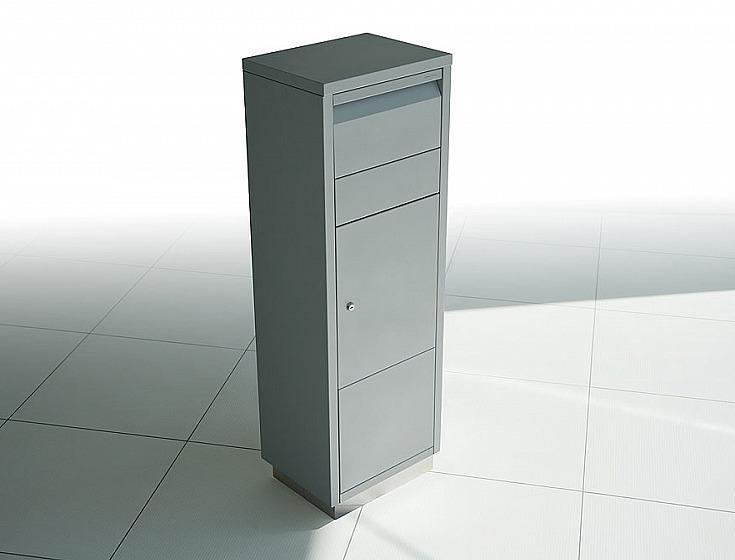 Radius design cologne Schránka na listy RADIUS DESIGN (LETTERMANN standing ovation silver 601C) strieborná
