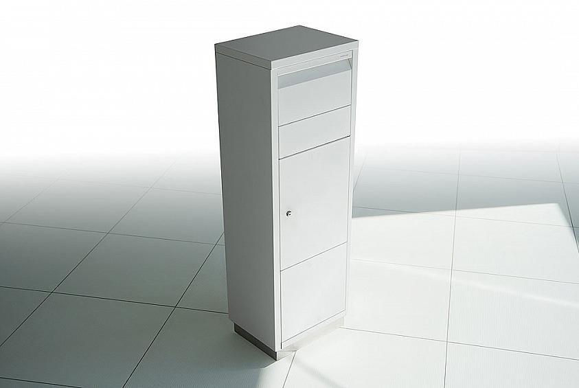 Radius design cologne Schránka na listy RADIUS DESIGN (LETTERMANN standing ovation white 601E) bielá