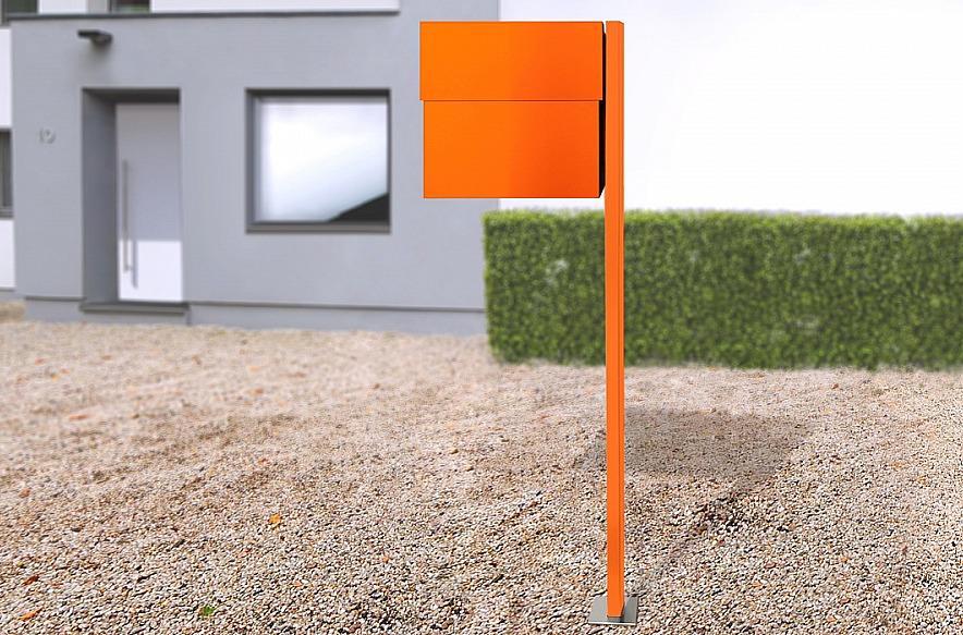 Radius design cologne Schránka na listy RADIUS DESIGN (LETTERMANN XXL 2 orange 568A) oranžová