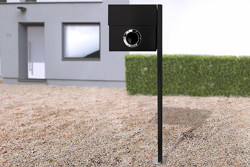 Radius design cologne Schránka na listy RADIUS DESIGN (LETTERMANN XXL black 567F) čierná