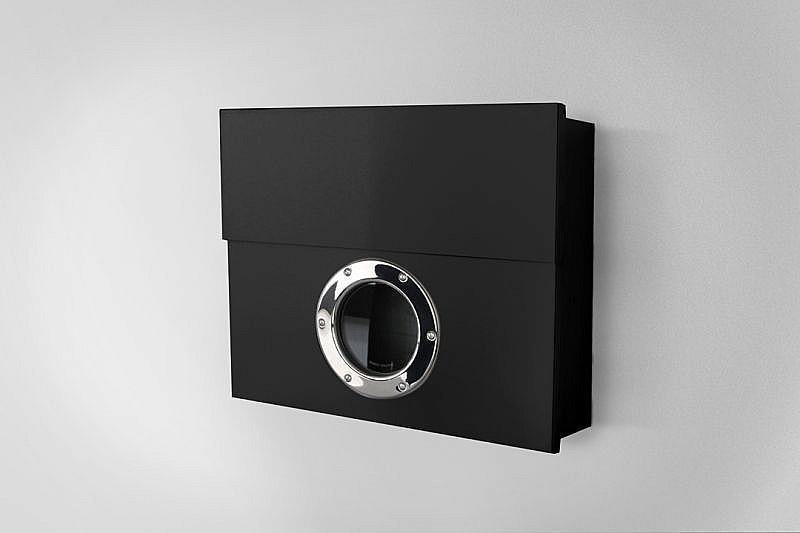 Radius design cologne Schránka na listy RADIUS DESIGN (LETTERMANN XXL schwarz 550F) čierna
