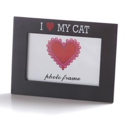 Rám na fotografie Potiron Paris, I LOVE MY CAT 10x15cm