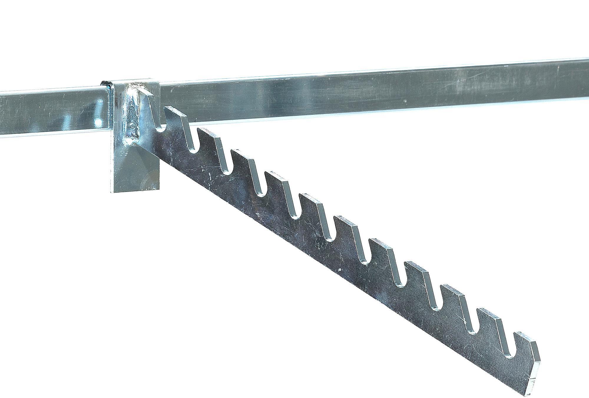 Rameno na zavesenie vešiakov pre regál Transform, dĺžka 300 mm