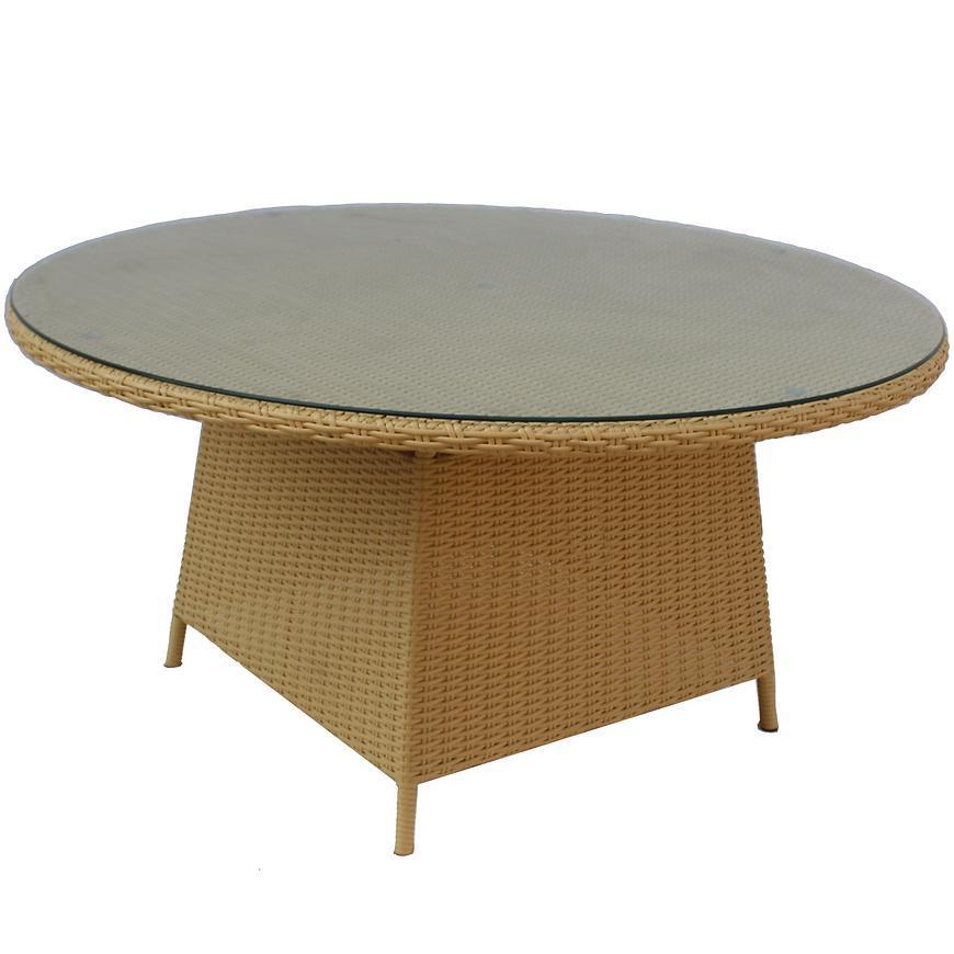 Ratanový stôl Olaf béžová