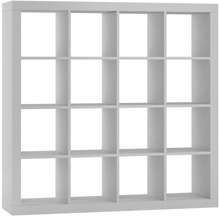 Regál KALAX 4x4 biely