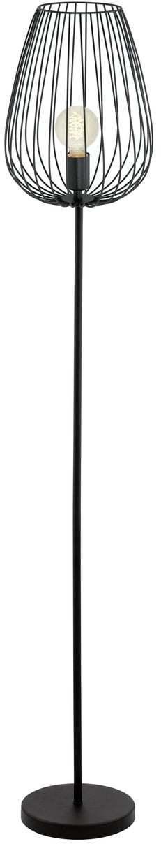 Retro a vintage svietidlo EGLO NEWTOWN čierna E27 49474