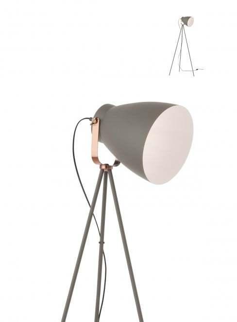 Retro a vintage svietidlo REDO ARNE LAMP E27 SAND GREY 01-1277