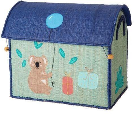 rice Detský úložný box Raffia Birthday Animals S