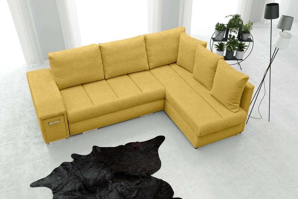Rohová sedačka Arlene (žltá) (P)