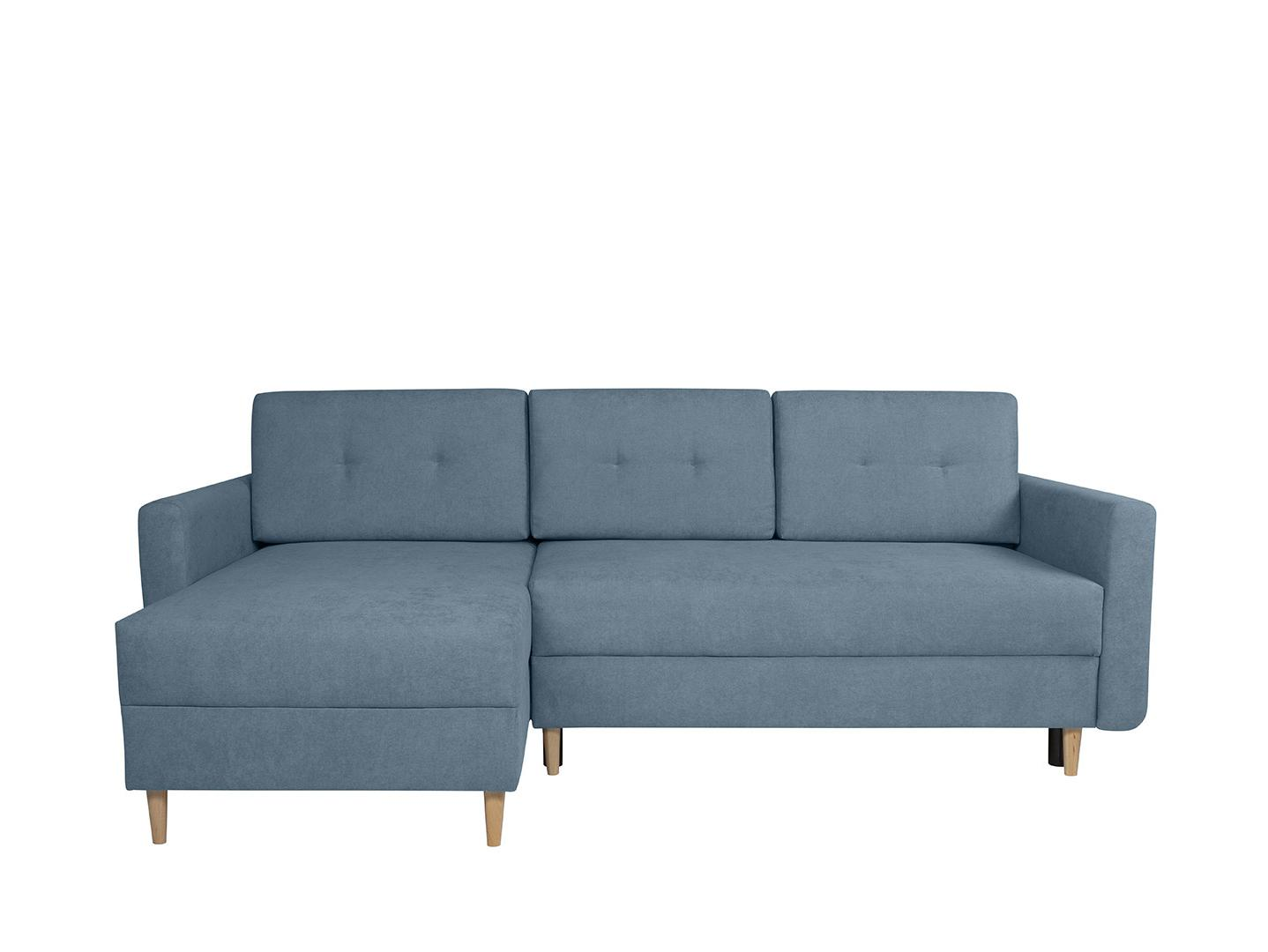 Rohová sedačka BRW Feliz Lux 3DL.URC (tyrkysová) (L)