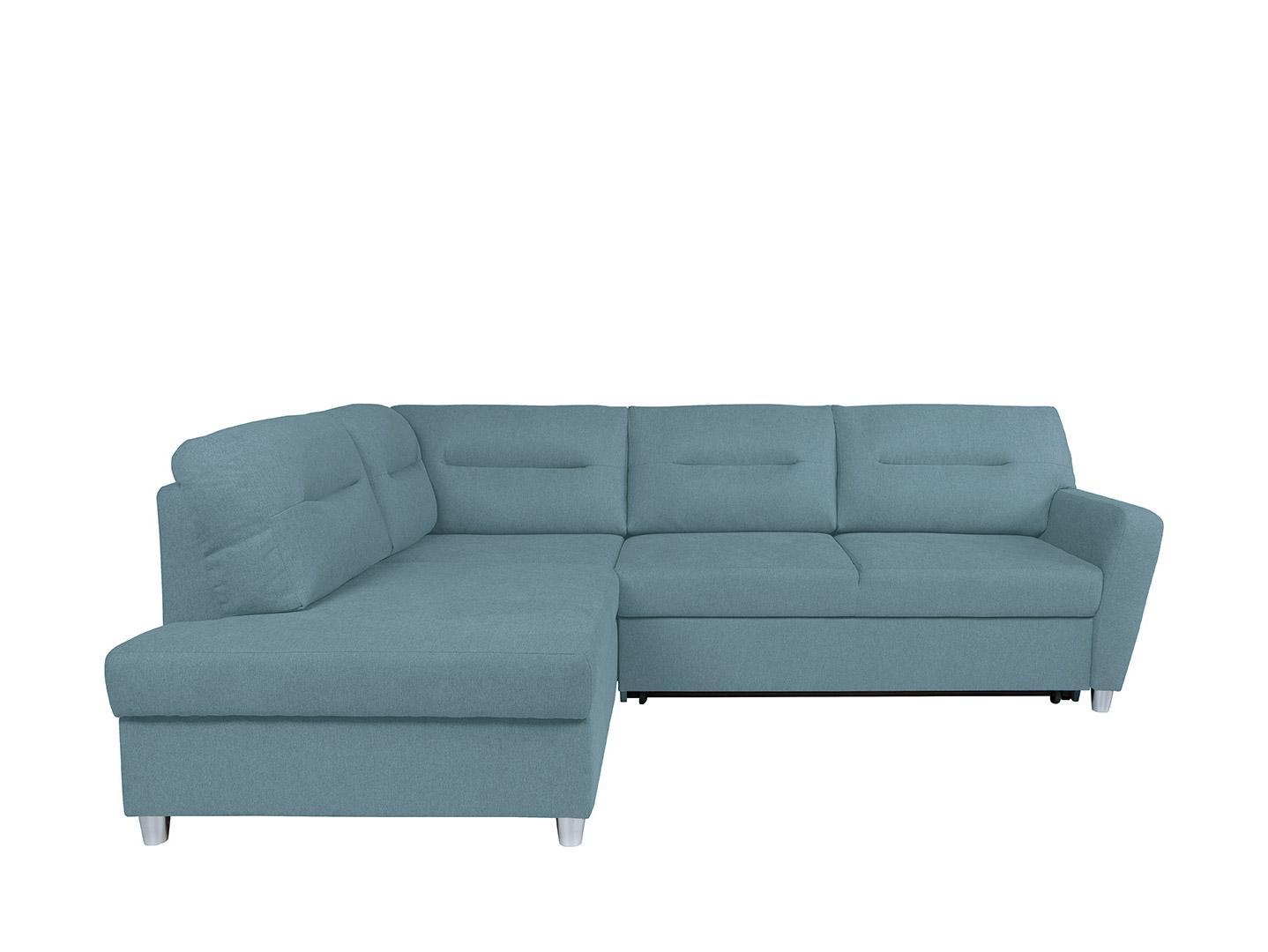 Rohová sedačka BRW Sotelo RECBK.2F (tyrkysová) (L)