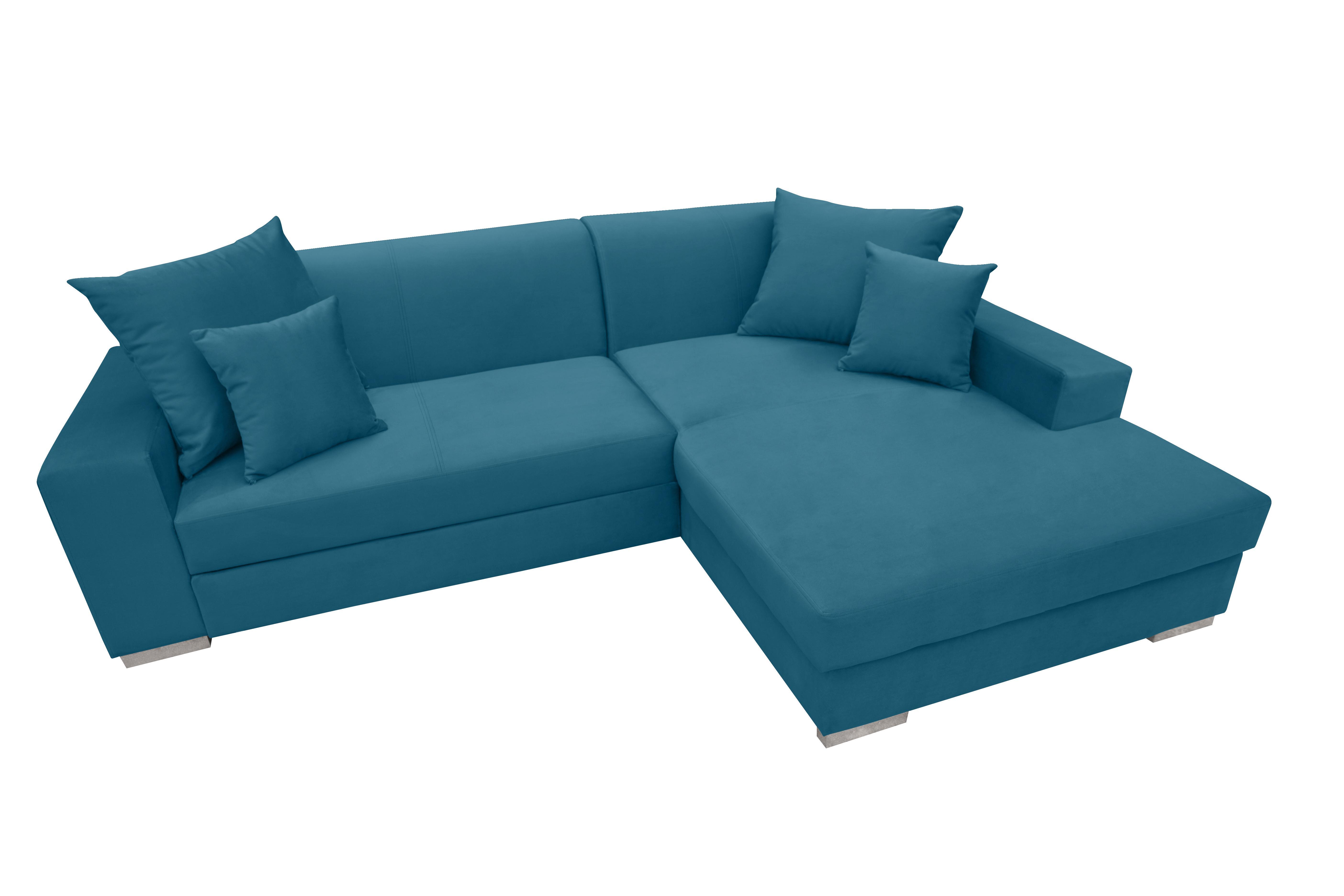 Rohová sedačka Montura (tyrkysová) (P)