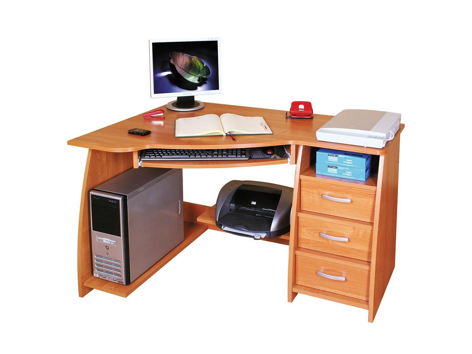 Rohový PC stolík - ML Nábytok - Jocker L / P. Sme autorizovaný predajca ML Nábytok.