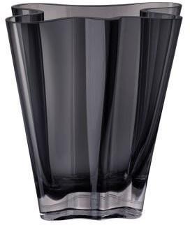Rosenthal váza Flux, dymová sivá, 20 cm