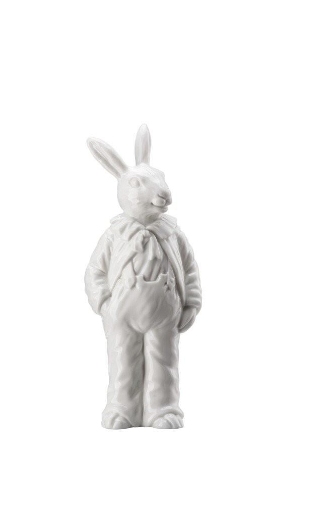 Rosenthal veľkonočná figúrka pán Zajac, Easter Bunny Friends, 15 cm, biely