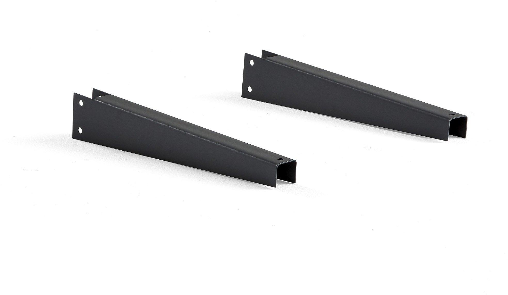 Rovné rameno pre konzolové a vertikálne regály Plus, 450 mm