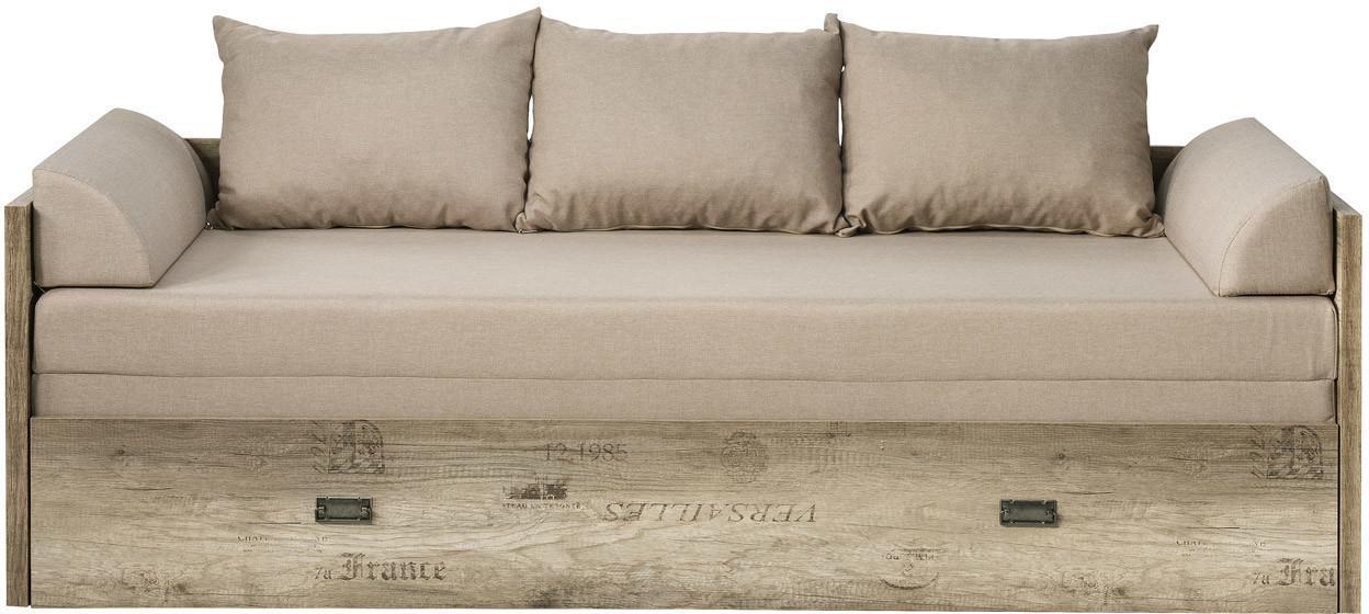 Rozkladacia posteľ 80 až 160 cm BRW Malcolm LOZ/80/160