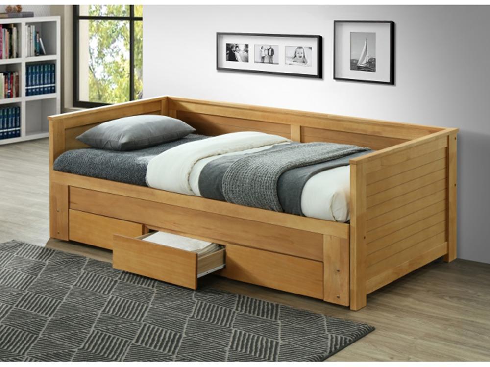 Rozkladacia posteľ, dub, GORETA