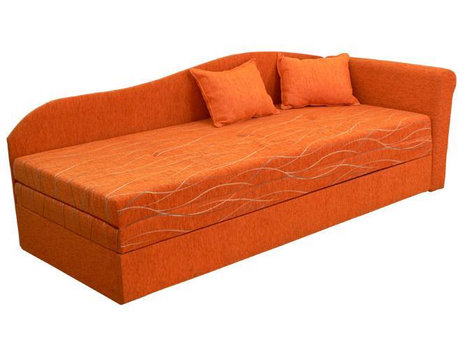 Rozkladacia posteľ (váľanda) 80 až 160 cm Katka (s molitanovým matracom) (P)