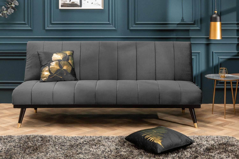 Rozkladacia sedačka Halle 180 cm sivá - Skladom na SK - RP