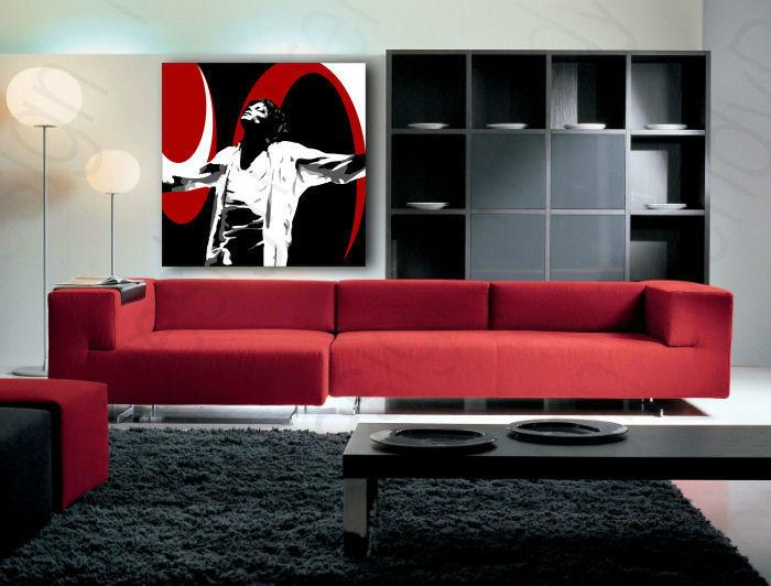 Ručne maľovaný POP Art obraz Michael Jackson  mj1