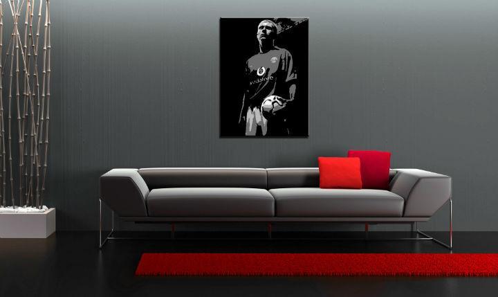 Ručne maľovaný POP Art obraz Paul Scholes  ps