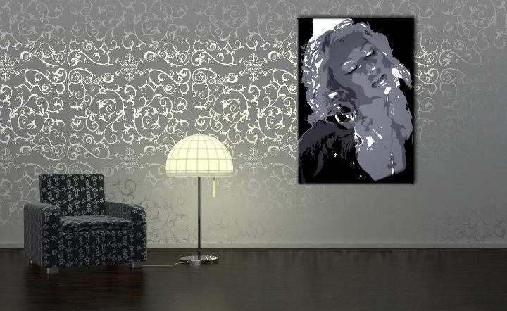 Ručne maľovaný POP Christina Aguilera  ca