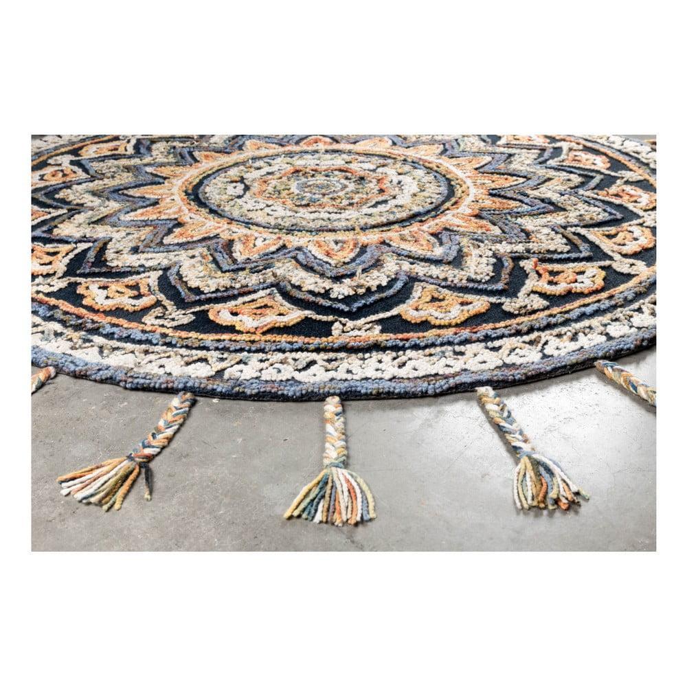 Ručne vyrábaný koberec Dutchbone Pix, ⌀ 170 cm