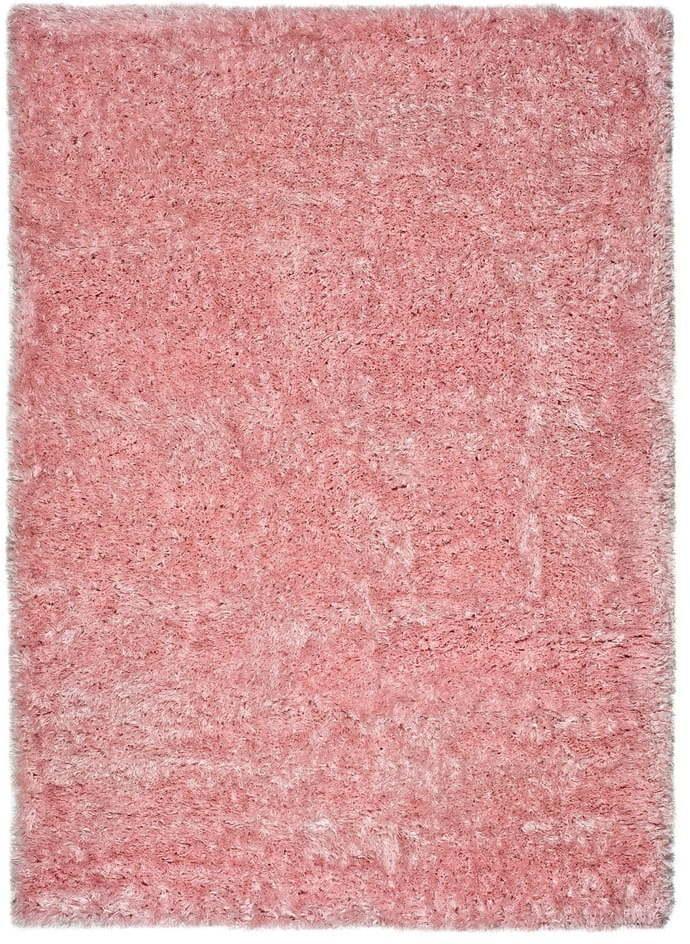 Ružový koberec vhodný aj do exteriéru Universal Aloe Liso, 60 × 120 cm