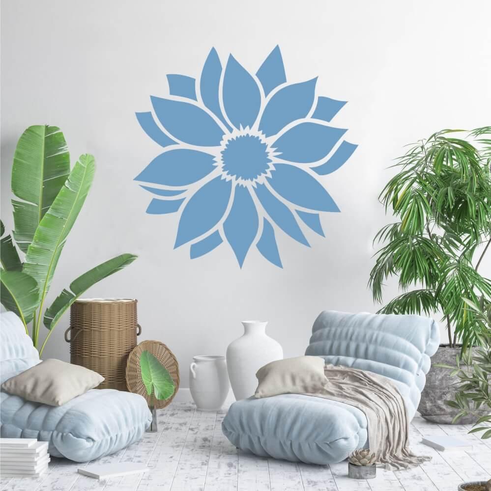 Šablóny na maľovanie - Kvet