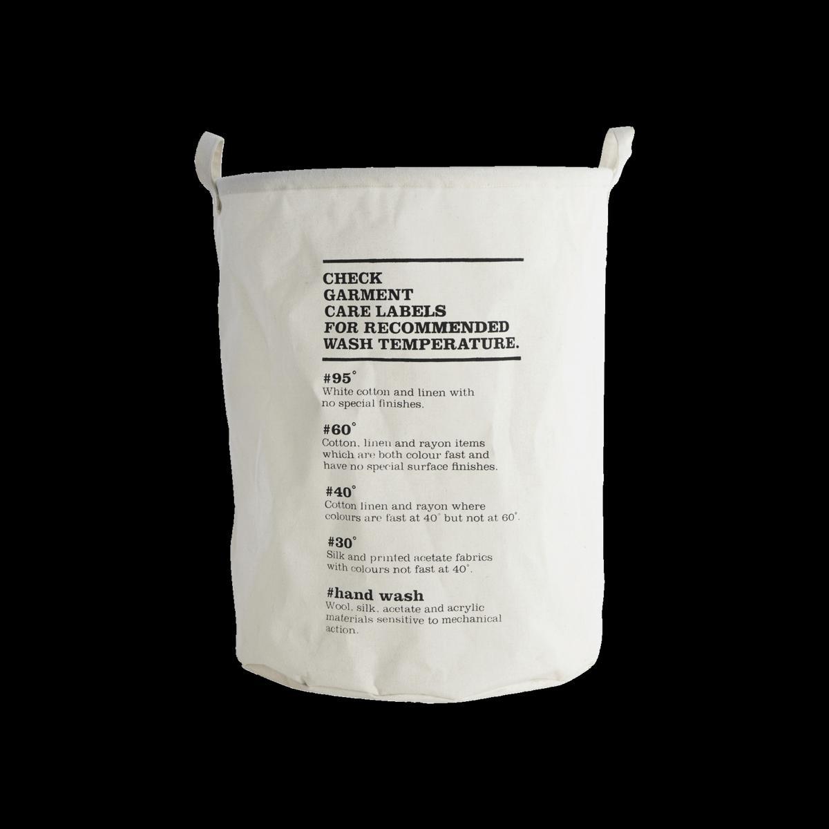 Sada 2 ks − Biely vrece na bielizeň Waske Instructions
