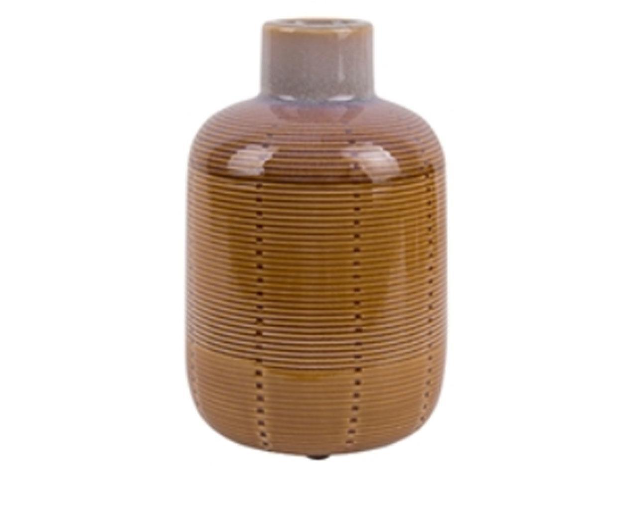 Sada 2 ks – Stredná váza Bottle – žltá