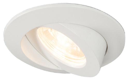 Sada 3 zapustených bodových svetiel biela vrátane LED IP44 - Relax LED