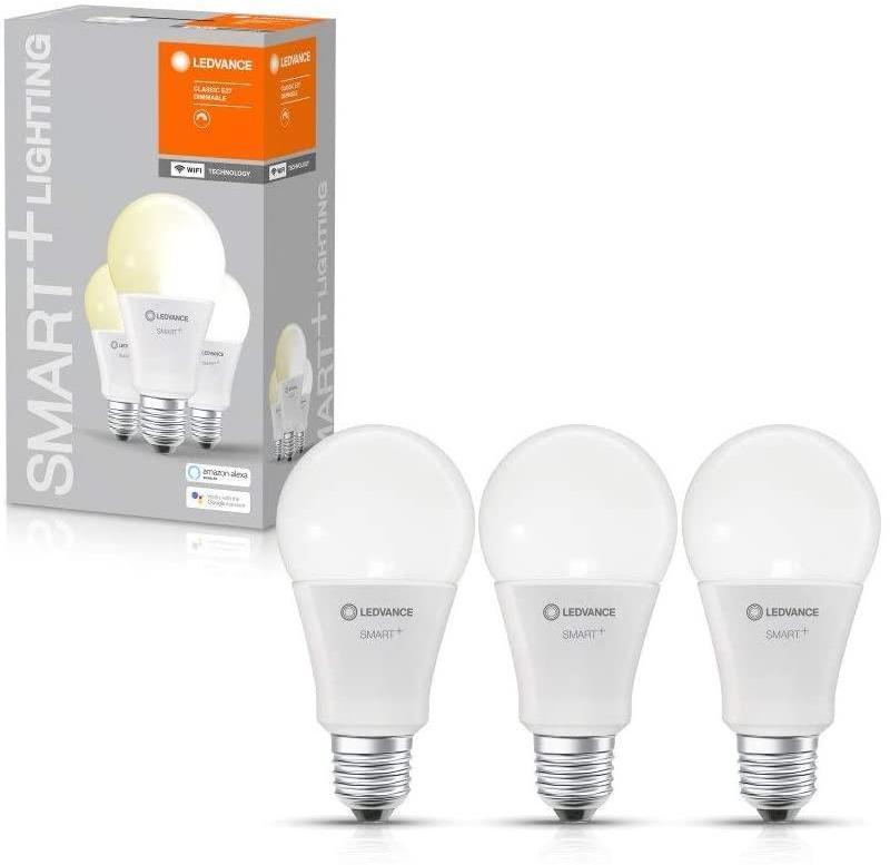 SADA 3x LED Stmievateľná žiarovka SMART+ E27/14W/230V 2700K - Ledvance