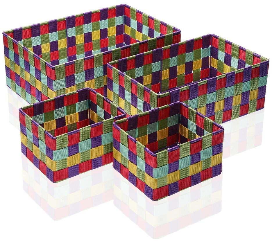 Sada 4 úložných košíkov Versa Giardino